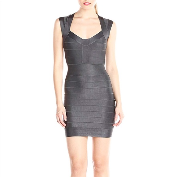 French Connection Dresses & Skirts - French Connection Charcoal Dress